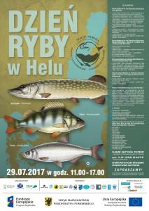 Zapraszamy 29 lipca 2017 na Dzień Ryby w Helu Podczas tegorocznego Dnia Ryby w Helu będziemy starali się przybliżyć wiedzę na temat  okonia, szczupaka oraz certy. Pragniemy zwrócić w ten sposób uwagę odbiorców na różnorodność zagrożeń, z którymi mierzą się rodzime gatunki ichtiofauny.